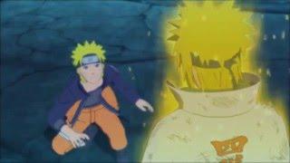 Naruto Says Goodbye to his Father /Minato tells naruto happy birthday English