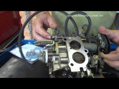 Tonella carburador solex 2E funcionamento e regulagens 04