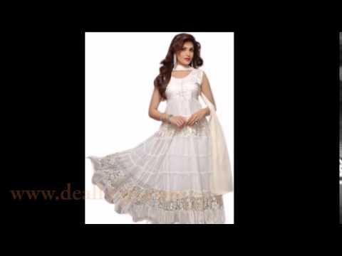 Fashionable Anarkali Salwar Suit India - Online Store