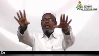 Tamil Islam Convert M.C.Mohammed (Christuraj.Reverent) Way to Paradise Class