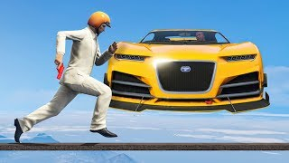 HOW DID HE DODGE THIS? (GTA 5 Funny Moments)