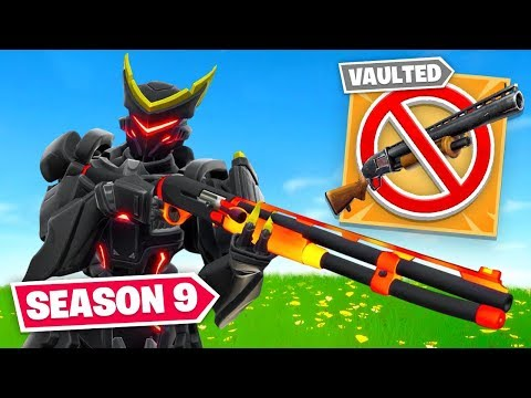 They VAULTED the Pump Shotgun For THIS Fortnite Season 9