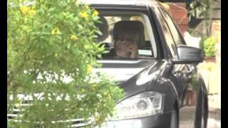 25.07.2012 12.mumbai raj thakrey with bala saheb thakarey in lilavti.