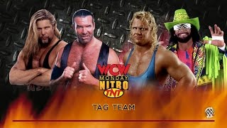 WCW Monday Nitro: The Outsiders vs. Mr. Perfect & Macho Man Randy Savage