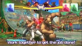 Street Fighter X Tekken - New York Comic Con Battle Systems Breakdown Trailer (Multi)