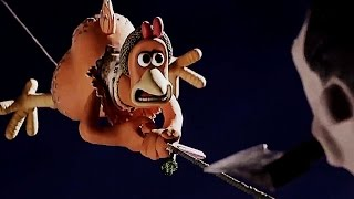 Chicken Run (2000) Scene: