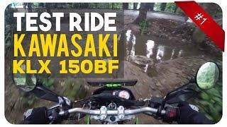Test Ride Kawasaki KLX 150BF | Motor Offroad Bau | MotoVlog #1