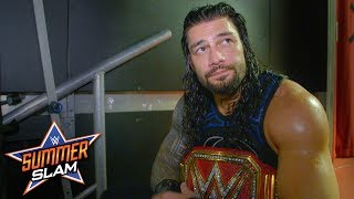 """Roman Reigns """"came to win"""" against Brock Lesnar at SummerSlam: SummerSlam Exclusive, Aug. 19, 2018"""