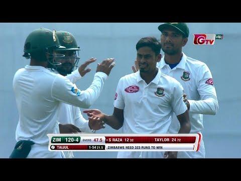 Xxx Mp4 Zimbabwe39s All Wickets Against Bangladesh 2nd Test 2nd Innings Zimbabwe Tour Of Bangladesh 2018 3gp Sex