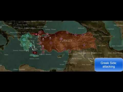 Greece vs Turkey Simulation