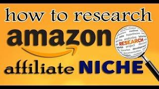 Amazon Affiliate NICHE keyword Research | Google Keyword Planner | Amazon Affiliate Part -07