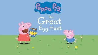 The Great Egg Hunt - Animated Peppa Pig Story