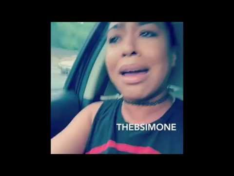 The B.Simone Who hurt her Square TF up on God She really cried