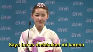 Wanita korea utara menangis