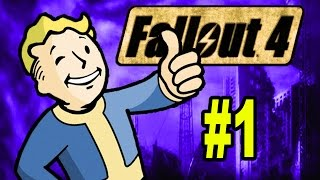 Let's Play FALLOUT 4 | Part 1 | Fallout 4 Gameplay