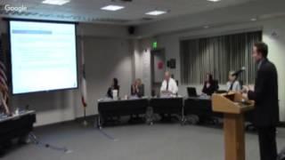 Sesión especial de la Mesa Directiva de Educación del MUSD - 1/30/17