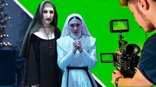 شاهد كواليس تصوير أشهر أفلام الرعب.. قبل وبعد المؤثرات البصرية !!