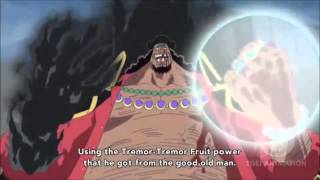 Blackbeard is one of the Four Emperors   The New Yonkou