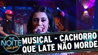 Medrado canta Cachorro que Late não Morde | The Noite (02/12/16)