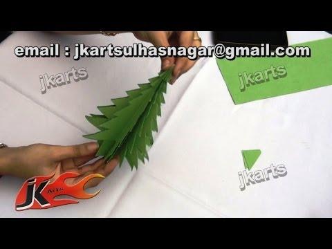 How to make Paper Christmas Tree | DIY Christmas decorations | JK Arts 076