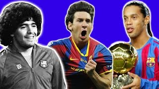 10 Best Barcelona Players Of All Time
