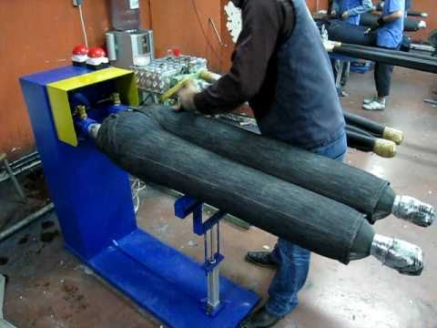 Denim Jeans Scraping and Brushing Machine