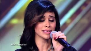 MBC The X Factor   ندى خليل   المرحلة الثانية   YouTube