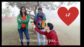 The Great Indian Love Story | Funny Romance | Bollywood Version | Engineering Life