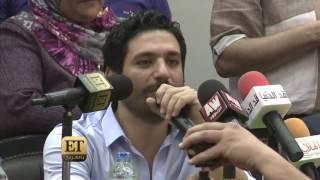 ET بالعربي –  حسن الرداد  مع طلاب جامعة عين شمس