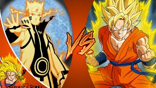 GOKU vs NARUTO! REMASTERED! Cartoon Fight Club Episode 50 REACTION!!!