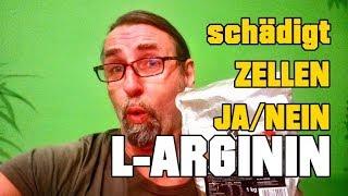 Schädigt L-Arginin die Zellen! JA oder NEIN