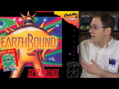 Earthbound SNES Angry Video Game Nerd AVGN