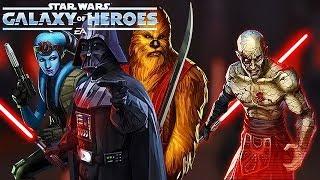Sith Raid P2 - Mission Vao & Zaalbar + Darth Vader ▶ Raid Guide ▷ Star Wars: Galaxy Of Heroes