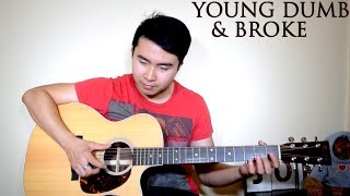(WITH TABS!!) Khalid | Young Dumb & Broke (Cover by Jorell)