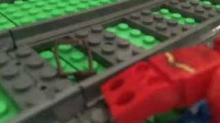 Lego The Flash vs Gorilla Grodd.