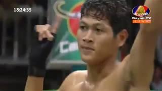 Khmer Boxing Daily, វ៉ាន់ វឿន ប៉ះ សង គង់,  Kun Khmr Boxing, BayonTv Boxing