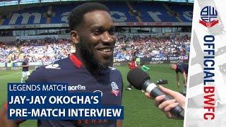 LEGENDS MATCH | Jay-Jay Okocha's pre-match interview
