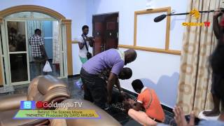 THE MAKING OF THE MOVIE 'PATHETIC' PRODUCED BY DAYO AMUSA