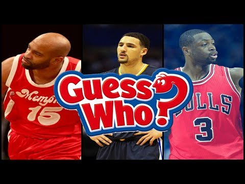 GUESS WHO GAME? | NBA EDITION
