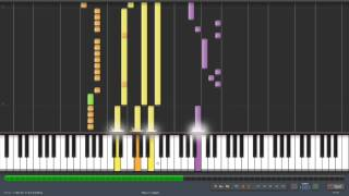 Daft Punk- veridis quo  Synthesia HD