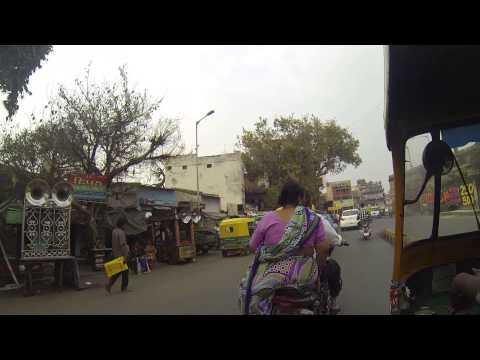 pequeño paseo por las calles de la india