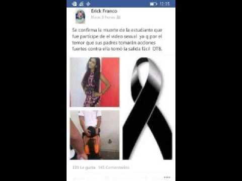 Se suicidad #Lady Mamada joven que tuvo SEXO ORAL y se hizo viral Noticia