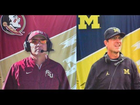 FSU & Michigan Coach's Press Conference Recap with Shawn Davison