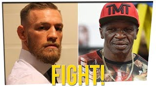 McGregor - Mayweather Fight is OFFICIAL!! ft. Blogilates & DavidSoComedy
