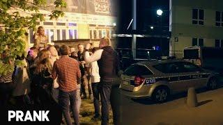 Impreza z policją na mieście - LukasTV