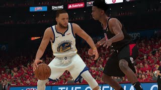 Golden State Warriors vs Los Angeles Clippers – Game 3 NBA Playoffs 2019 Full Game  NBA 2K19 4/18/19