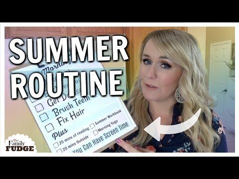 Xxx Mp4 KIDS Summer Morning Routine ☀️ 3gp Sex