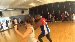 Cuban style salsa with Reynaldo Salazar and Blanca Garro (LeuvenSalsa!)
