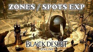 Black Desert - Zones / Spots EXP