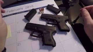 Glock 26 VS Glock 43 - Comparison
